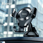 Baseus Universal 360° Gravity Car Mount Cradle Holder Stand for Mobile Phone GPS