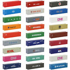1pc/2pcs/10pcs HO Scale 40ft Shipping Container 1:87 Freight Car Railway C8746