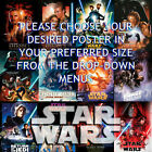 The Phantom Menace, Attack of the Clones, Revenge of the Sith - Movie Poster £8.6 GBP on eBay