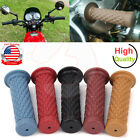 "Motorcycle Handlebar Hand Grips Bar End Cafe Racer Universal Clubman 7/8"" 22mm $8.95 USD on eBay"