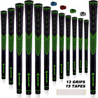 SAPLIZE Golf Club Grips Rubber 13 Grips with 15 Free Golf Tapes MIDSIZE