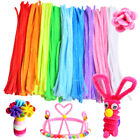 Kyпить 100PCS Chenille Craft Stems Pipe Cleaners Twisting Rods Kids DIY Many Colors на еВаy.соm