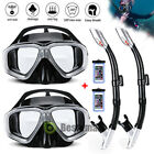 Kyпить 1/2x Snorkel Set Adult Youth Snorkeling Gear Dry Top Frameless Mask Diving +Tube на еВаy.соm
