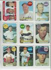 1969 Topps EX+/EX-NM+ Nice Sharp Cards ! Pick From List Complete Your Set !
