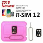 RSIM14 12 R-SIM Nano Unlock Card for iPhone XS MAX/XR/XS/8/7/6 4G iOS 12 11 Lot