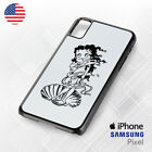 betty boop white Phone For Iphone Case Samsung Galaxy S10 $23.99 USD on eBay