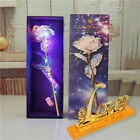 3D Crystal Rose Wife Love Present Birthday Valentine Mothers Day Gift Decor UK