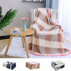 Soft Fleece Flannel Blanket Reversible Microfiber Plush Warm Velvet Throw Twin image