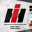 Case IH Badge Sticker / Decal - Multiple Sizes & Colours - Tractor - Harvester