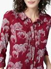 NEW EX WHITE STUFF UK 8 10 12 14 16  RED HEDGEROW JERSEY BLOUSE TOP