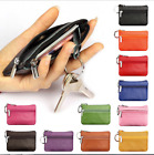 Women Ladies Leather Small Mini Wallet Bag Coin Purse Card Holder Zip Clutch image