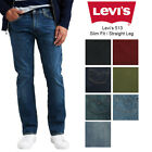 Levis Mens 513 Slim Fit Straight Jeans