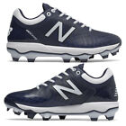 New Balance Navy / White Men's Molded Baseball Cleats PL4040v5 Cleat