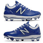 New Balance Royal / White Men's Molded Baseball Cleats PL4040v5 Low Cleat