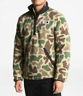 New Mens The North Face Pullover Campshire Sherpa Fleece Jacket Coat Top