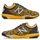 New Balance Black /Yellow Men's Baseball Turf Shoes 4040v5 Turf Trainer Cleat
