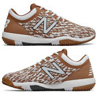 New Balance Texas Orange Men's Baseball Turf Shoes 4040v5 Low Turf Trainer Cleat