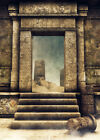 Ancient Egyptian Tomb Gate Photography Backdrop Photo Background Studio Props LB