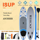"""ANCHEER Inflatable Stand Up Paddle Board 10Ft Non-Slip Deck(6"""" Thick) w- Paddle"""