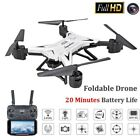 Drone Quadricoptère With 1080P HD Caméra WIFI 6-Axis 4CH Pliable Altitude Hold