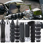 1'' Motorcycle Handlebar End Hand Grips Univresal for Harley Yamaha Suzuki Honda $14.58 USD on eBay