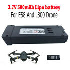 3.7V 500mAh Lipo Battery For E58 And L800 Drone Quadcopter Spare Battery