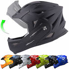 Tuzo Full Face Flip Up Front Downhill Trials BMX Mountain MTB Bike Cycle Helmet <br/> Sizes XS-XXL - Free FAST UK Mainland Delivery