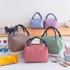 Lunch Bag Insulated Thermal Food Storage Bag Portable Travel Working Bento Box.