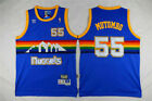 Denver Nuggets Basketball Jersey #55 Dikembe Mutombo Shirt BLUE on eBay