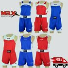 MRX Boxing Uniform Muay Thai Kick MMA Training Jersey Shorts Kickboxing Suit Set