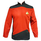 Star Trek The Next Generation Command Jacket Tunic Red