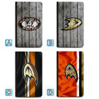 Anaheim Ducks Leather Passport Holder Cover Case Travel Wallet $4.99 USD on eBay