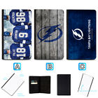 Tampa Bay Lightning Leather Passport Holder Cover Case Travel Wallet $4.99 USD on eBay