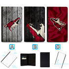 Arizona Coyotes Leather Passport Holder Cover Case Travel Wallet $4.99 USD on eBay