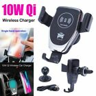 Qi Wireless Car Charger Q3.0 Fast Charging Upgrade Air Outlet Mount Accessories