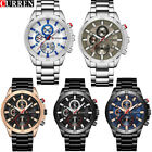CURREN Watch Mens Watches Outdoor Wristwatches Full Steel Boy Sports Waterproof` image