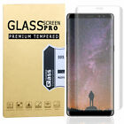For Samsung Galaxy S9 S8+ Note 8 9 Full Cover Tempered Glass Screen Protector