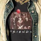 Pennywise, Jason, Freddy, Leatherface Picture T-shirt Horror Movie Size S-5XL