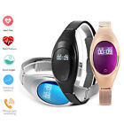 Fashion Women Bluetooth Smart Watch Heart Rate Monitor Lady Bracelet For iPhone