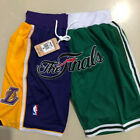 Los Angeles Lakers Boston Celtics just don splice finals Basketball Pants Shorts on eBay