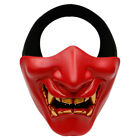 Half Face Mask Protective Mask for Festival Camping Games Cosplay Party J7Q9