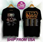 Kiss Band Rock End of The Road North American Tour 2019 T shirt image