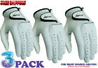 Golf Glove3 Pack 100% Cabretta Leather Apical Free Fast Shipping