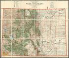 1921 General Land Office Map of Colorado