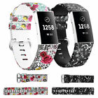 For Fitbit Charge 3 Replacement Sports Band Strap Silicone Wrist Watch Bands US