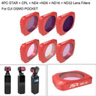 US Camera Lens Filter For DJI OSMO POCKET UV-STAR-CPL-ND4--ND8-ND16-ND32-ND64