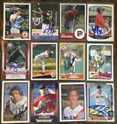 Various Boston Red Sox Signed Cards YOU PICK Autographs Free Ship A-Z on Ebay