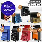 Shogun 5/7/8/9/14/16 Drawers Mechanic Tool Box Cabinet Toolbox Trolley Roller