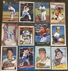 Various Baltimore Orioles Signed Cards A-M YOU PICK Autographs Free Ship on Ebay