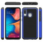 For Samsung Galaxy A10E A102V A102U S102DL Fused Hybrid Case Phone Cover